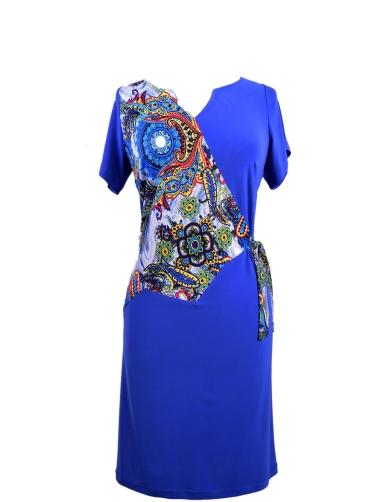 Φόρεμα jersey ελαστικό print