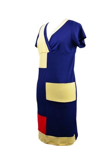 Φόρεμα jersey πολύχρωμο