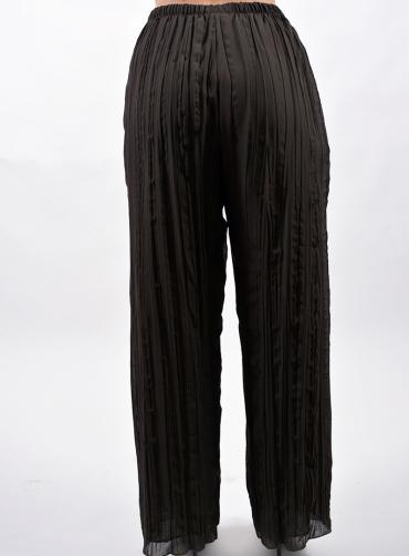 Παντελόνα πλισέ μουσελίνα