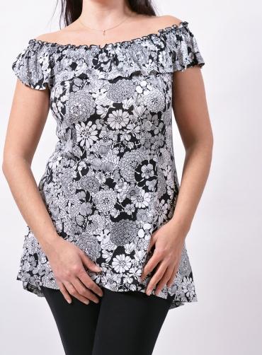 Μπλούζα βισκόζ floral