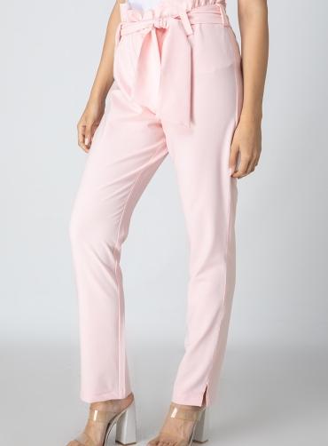 Παντελόνι ελαστικό με ζώνη