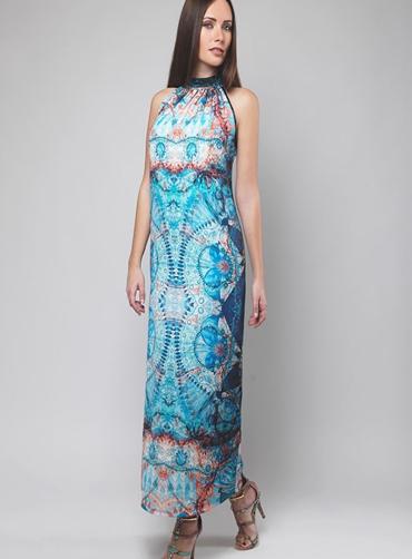 Φόρεμα μακρύ print