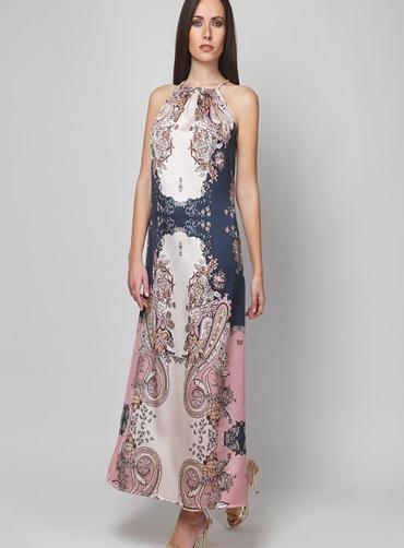 Φόρεμα σατέν print